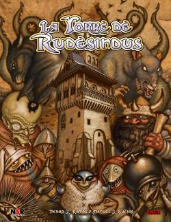 Portada del juego de rol, La Torre de Rudesindus.