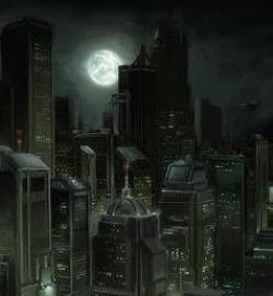 Lluvia sobre Night City