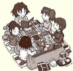 Mesa redonda.  Escritura en los juegos de rol. De la Red al