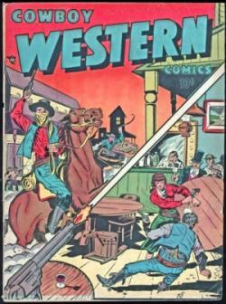 Cowboy Western [Hombres Lobo de Castronegro]