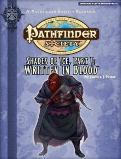 PFS 215 -- Shades of ice, part I: Written in blood
