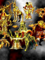 Hombres Lobo de Castronegro - Caballeros del Zodiaco (Saint