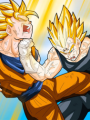 Dragon Ball Legacy: Goku VS Vegeta